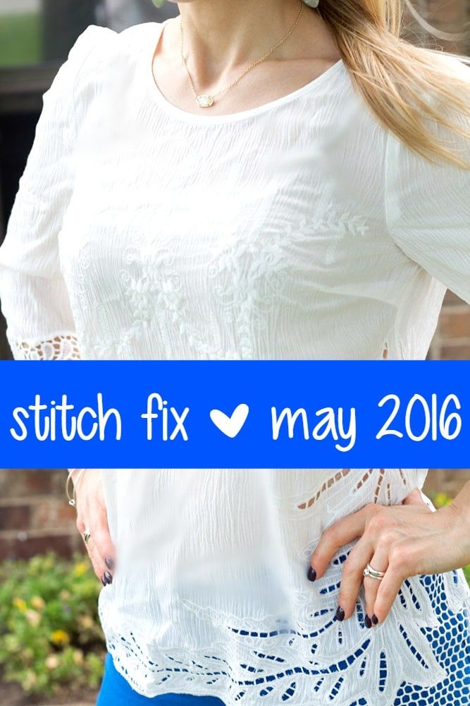 May 2016 Stitch Fix Review