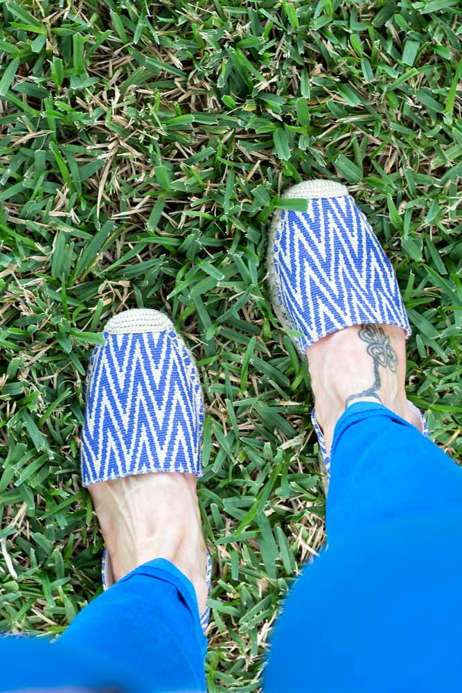 May 2016 Stitch Fix Review Ciara D'Orsay Espadrille Flats by Dolce Vita