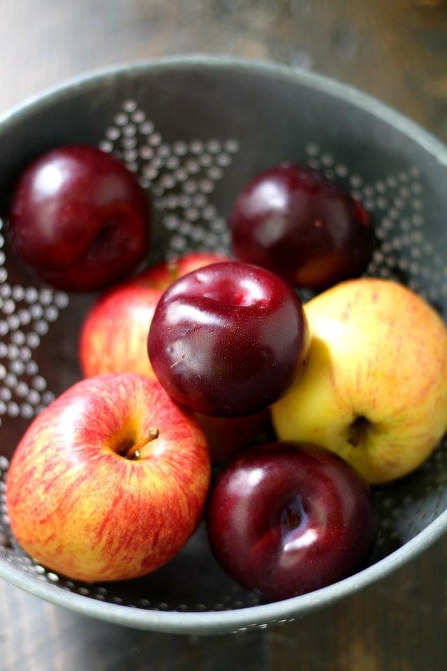 Slow Cooker Plum Applesauce - Kim's Cravings