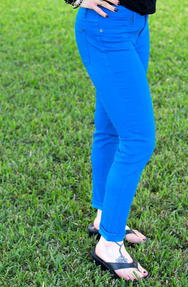 May 2016 Stitch Fix Review- Dorianna Skinny Jean by Lila Ryan | 98.00
