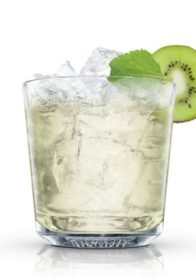 Kiwi and Mint Julep- refreshing and just a touch tropical, the way a spring day should taste.