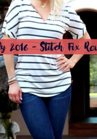 July 2016 Stitch Fix Review