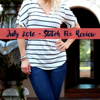 July 2016 Stitch Fix + $100 Giveaway