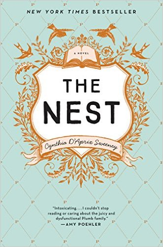 2016 Summer Reading List- The Nest by Cyntia D'Aprin Sweeney