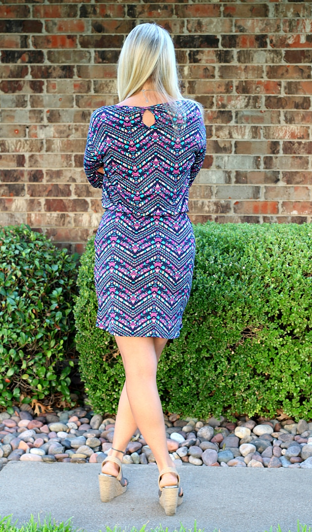 August 2016 Stitch Fix Review- Loma Knit Dress by Loveappella | S | 68.00