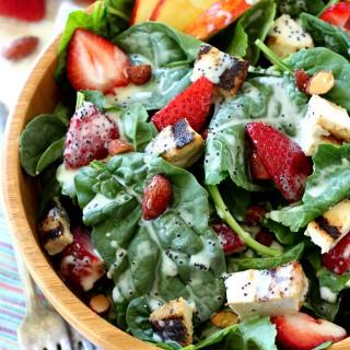 Strawberry Apple Chicken Salad