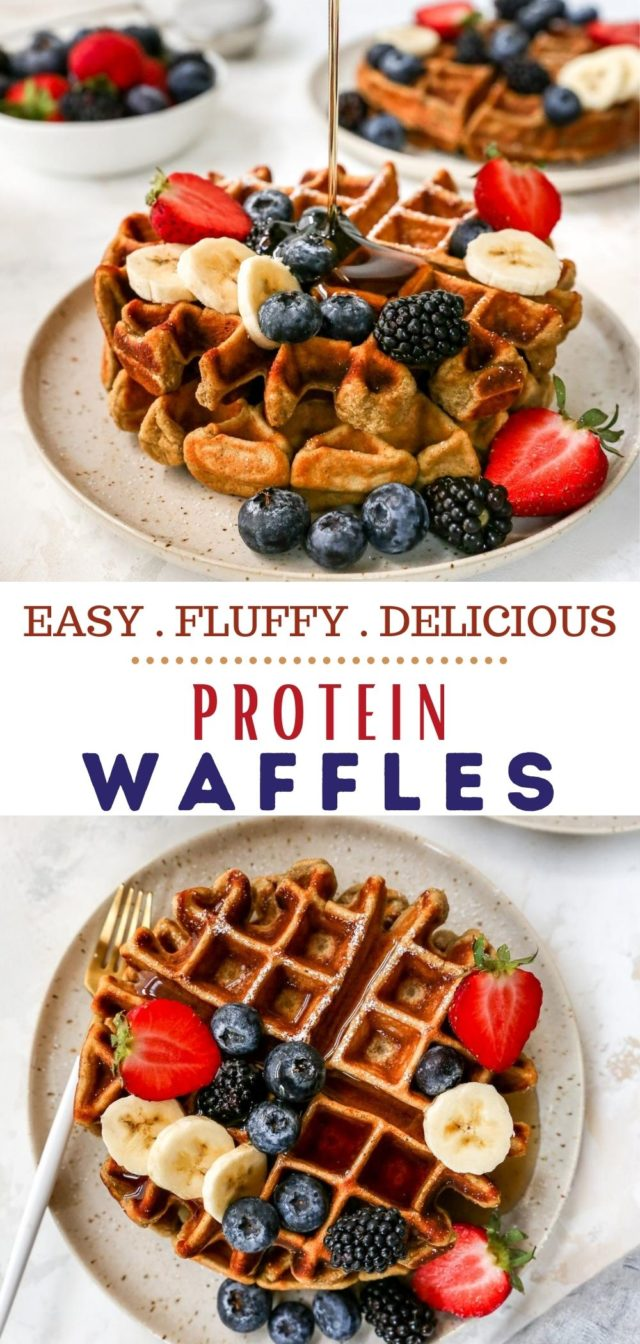 how to make protein waffles