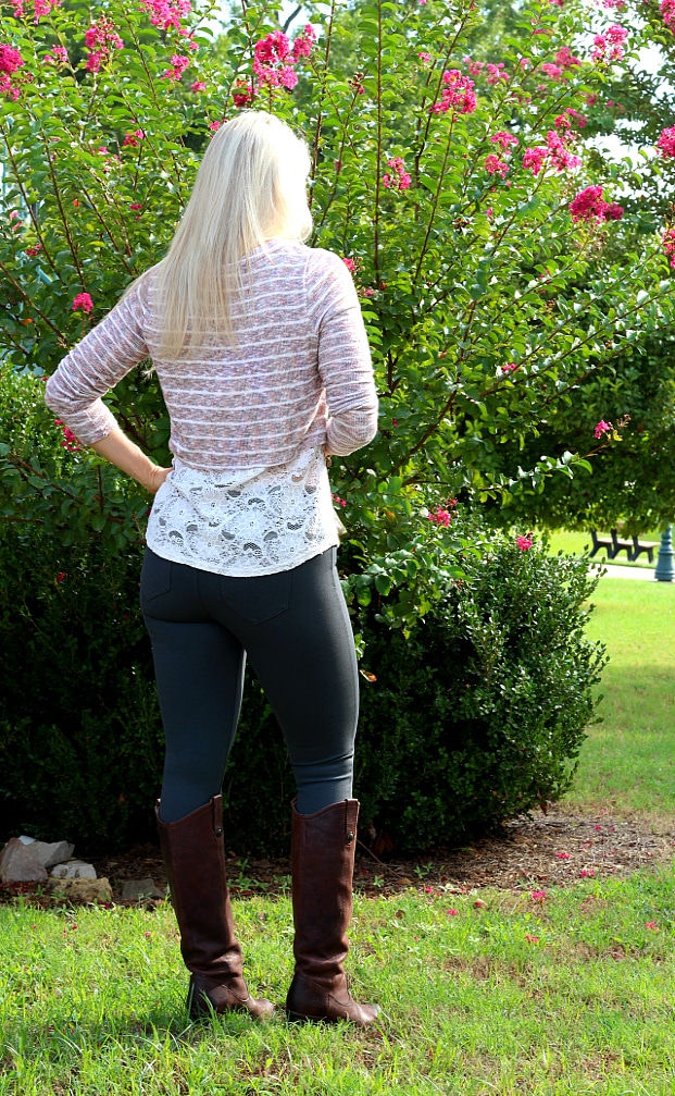 September 2016 Stitch Fix Review- Anita Skinny Pant by Liverpool   2P   88.00