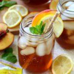 Peach Lemon Iced Tea