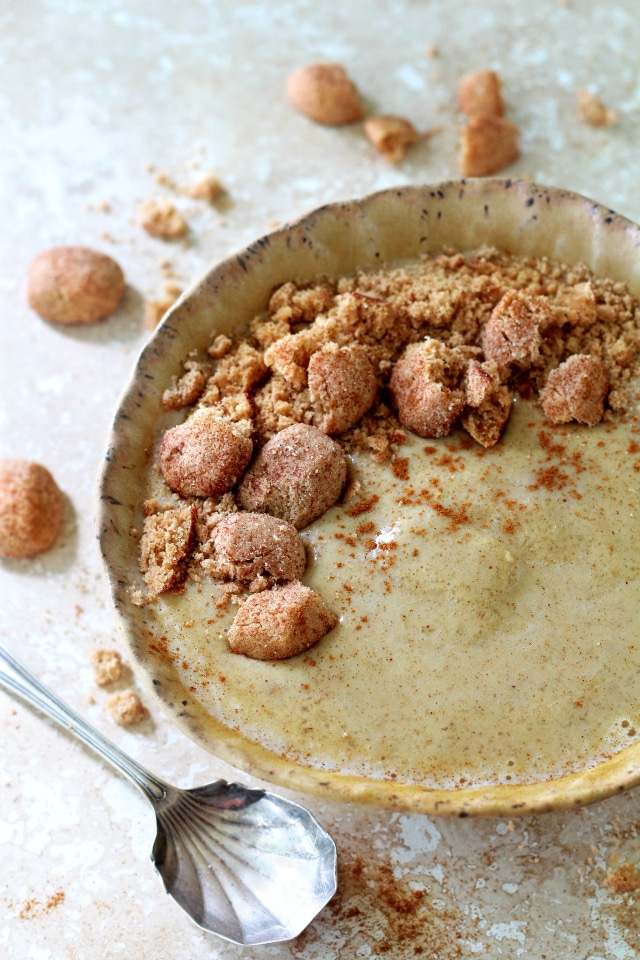 If you love a good Snickerdoodle Cookie, you are going to go crazy for the deliciousness of this Snickerdoodle Protein Smoothie Bowl. Plus, it's easy to make, gluten-free and vegan.