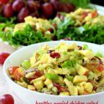 Healthy Curried Chicken Salad