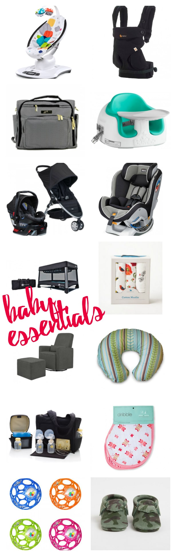 Will is almost one! I'm sharing a baby essentials round up, to include some of our favorite products we used and LOVED in his first year.