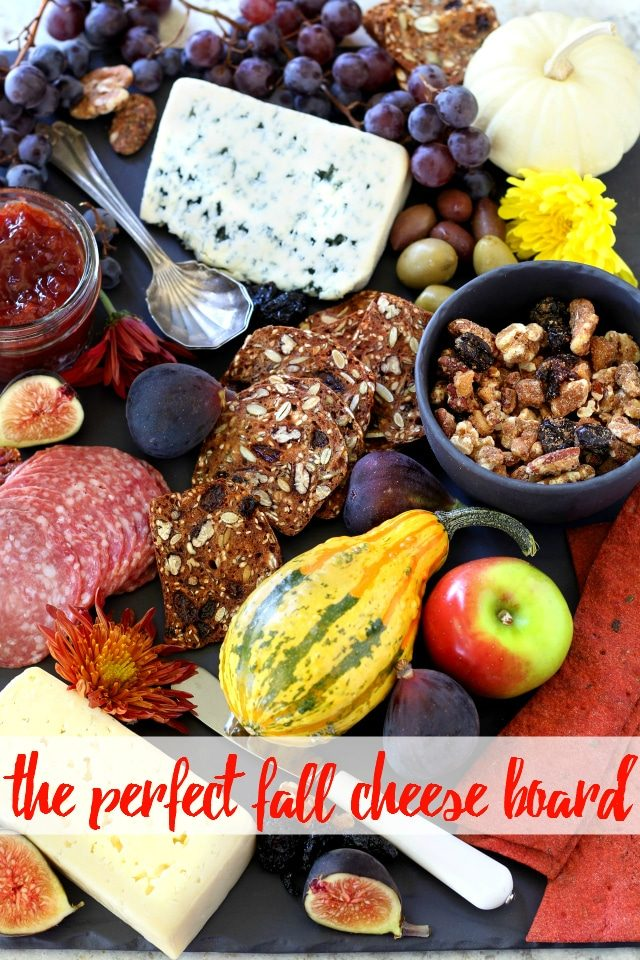 'Tis the season for entertaining, parties and gatherings! Whether you're looking to keep guests satisfied and entertained before dinner or you're just in need of a unique snack option, the perfect fall cheese board is the way to go.