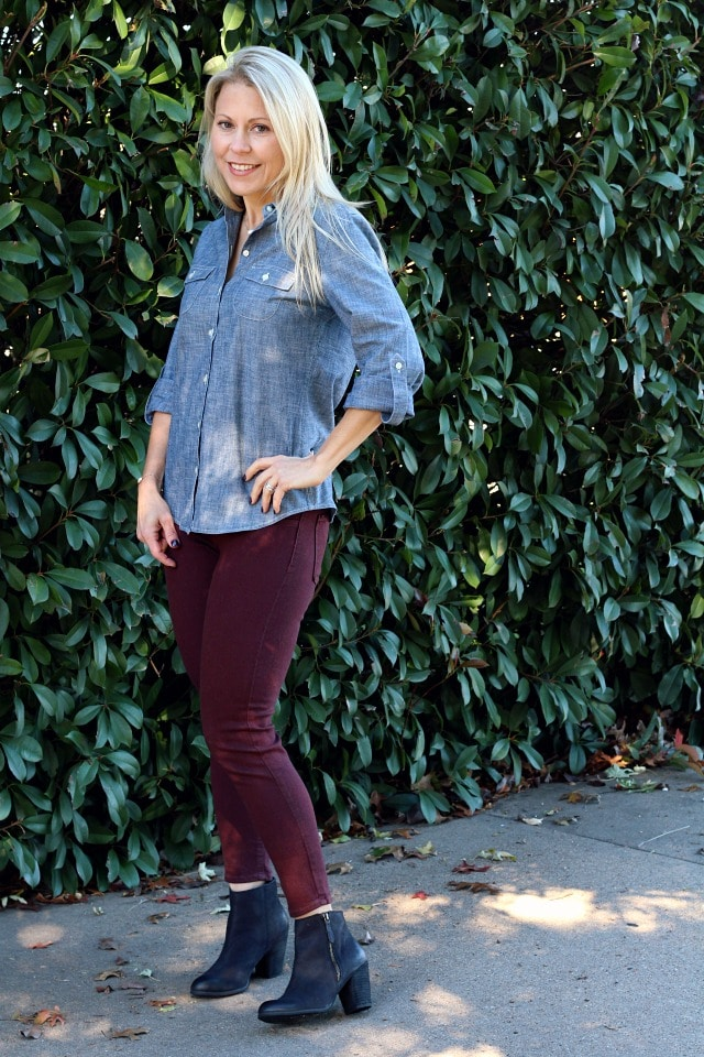 December 2016 Stitch Fix Review- Addison Skinny Jean by Just Black | 88.00