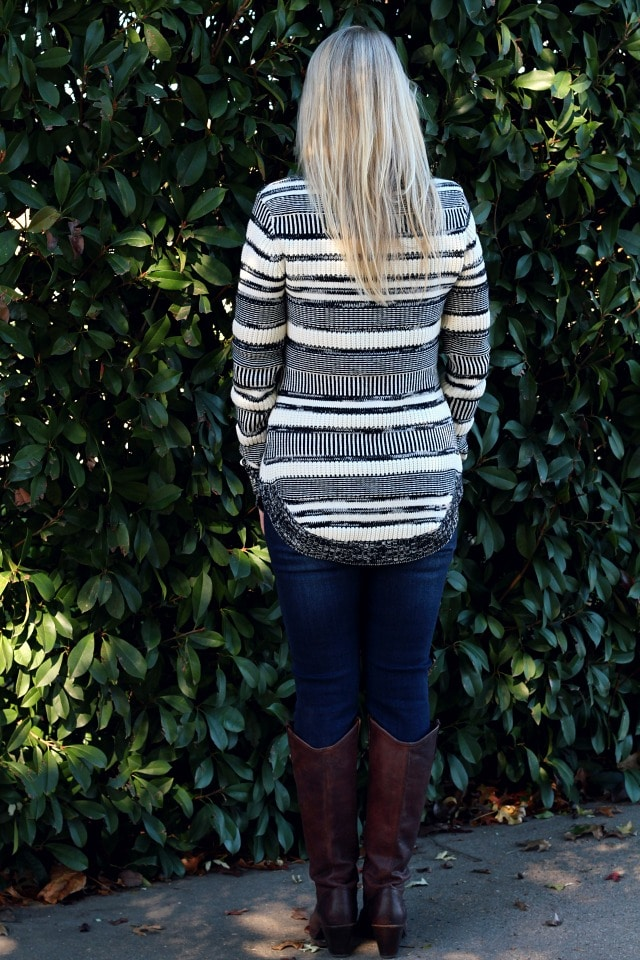December 2016 Stitch Fix Review- Finlee Striped Pullover by Market & Spruce   68.00