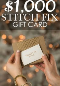 December 2016 Stitch Fix Review + 1,000 Stitch Fix Giveaway
