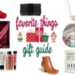 My Favorite Things Gift Guide 2016
