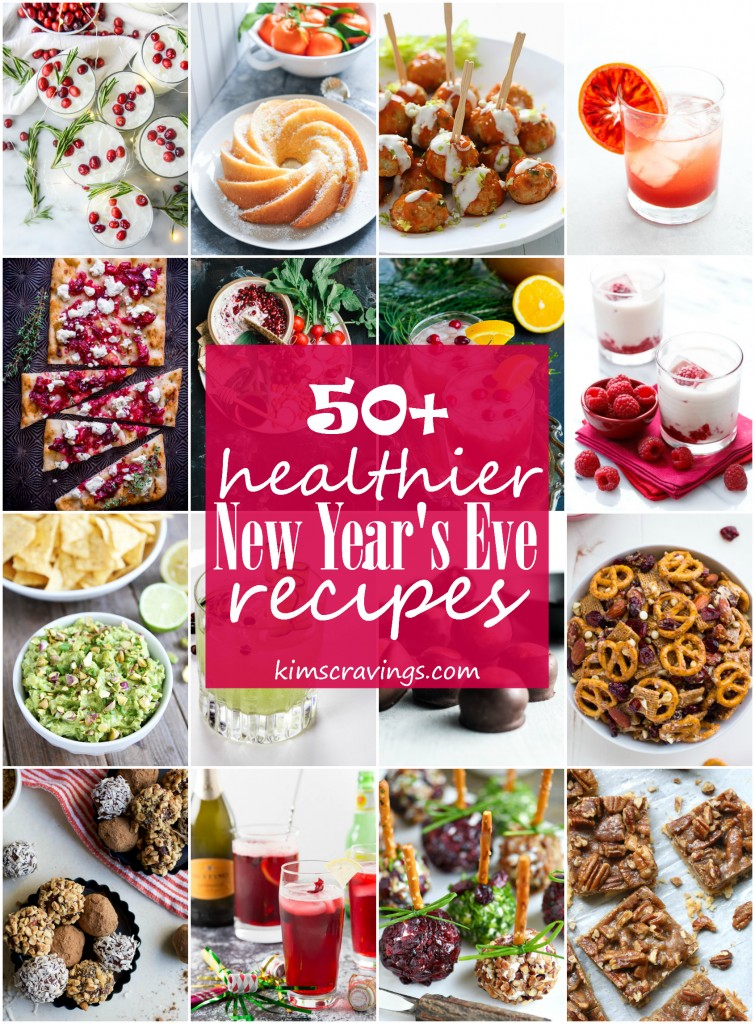 The Ultimate Healthy New Year's Eve Menu - 50+ Sweets, Apps and Drinks