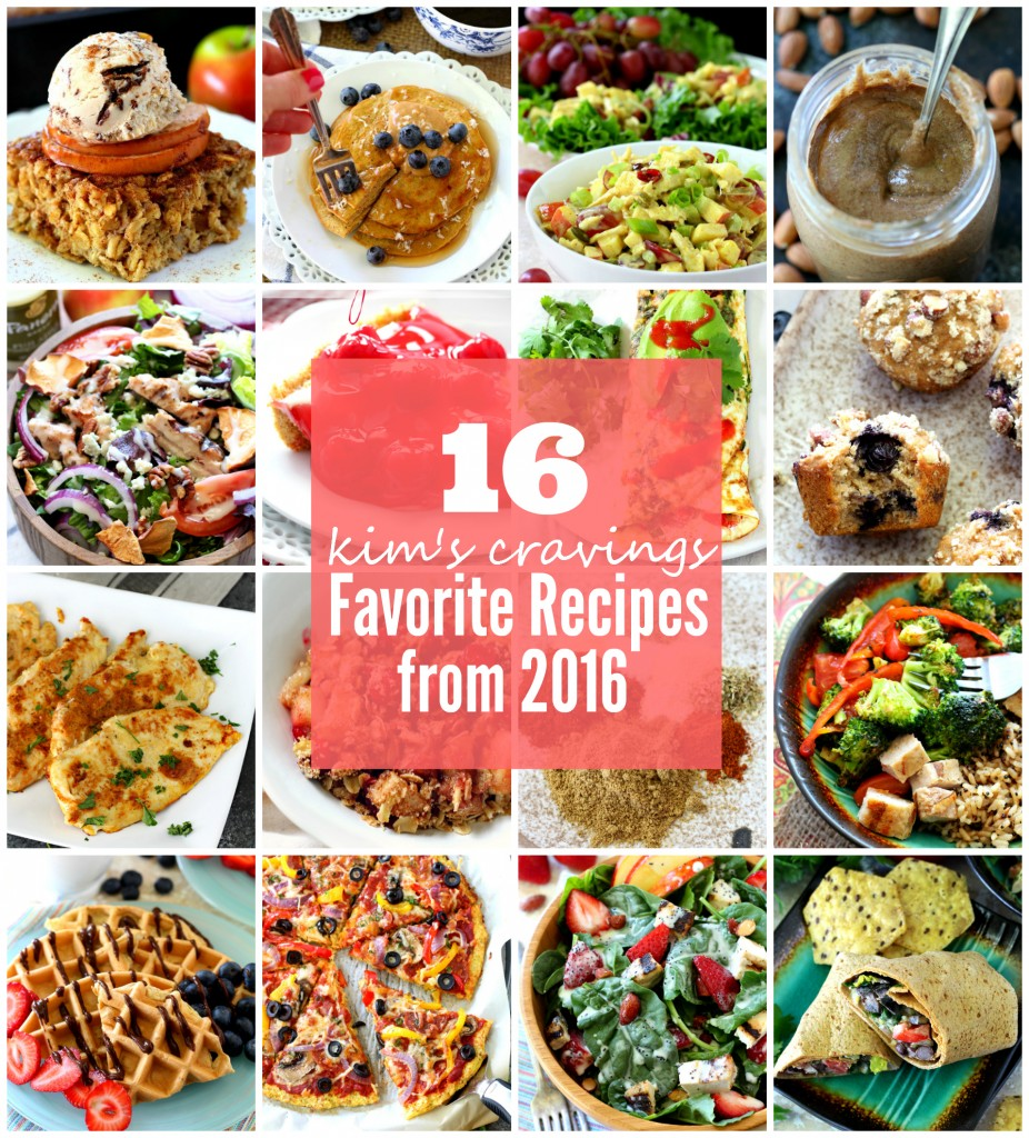 Kim's 16 Favorite Recipes for 2016