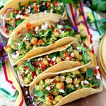 Chickpea Avocado Tacos