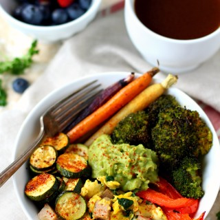 Low Carb Paleo Breakfast Bowl