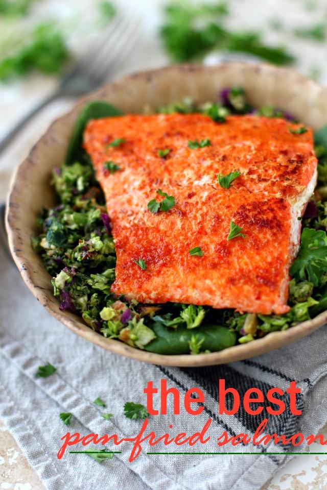 The Best Pan Fried Salmon Kim S Cravings