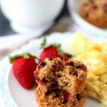 Strawberry Apple Oatmeal Cups