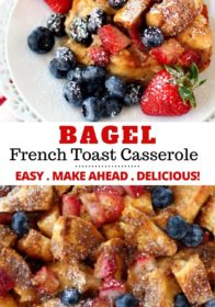 how to make a French toast casserole