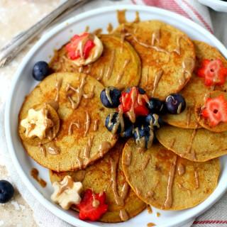 The Best Coconut Flour Pancakes {Paleo}