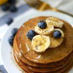 Lemon Poppy Seed Protein Pancakes