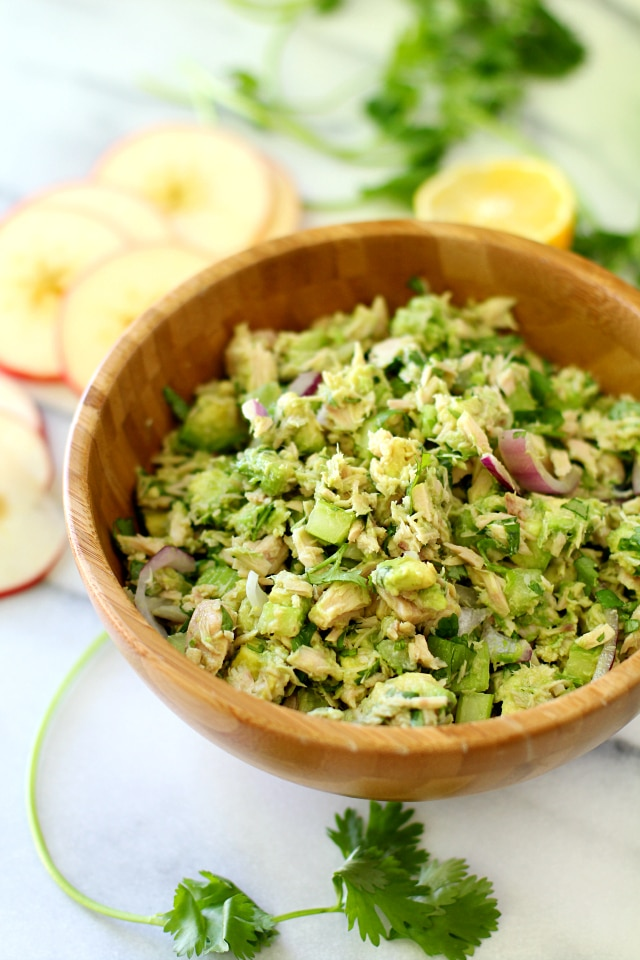 Easy Avocado Tuna Salad - Kim's Cravings