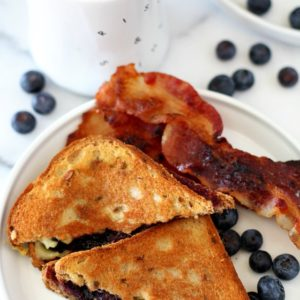The Ultimate Breakfast Grilled Cheese Sandwich is made with simple ingredients that come together for the most out of this world flavorful morning meal treat!