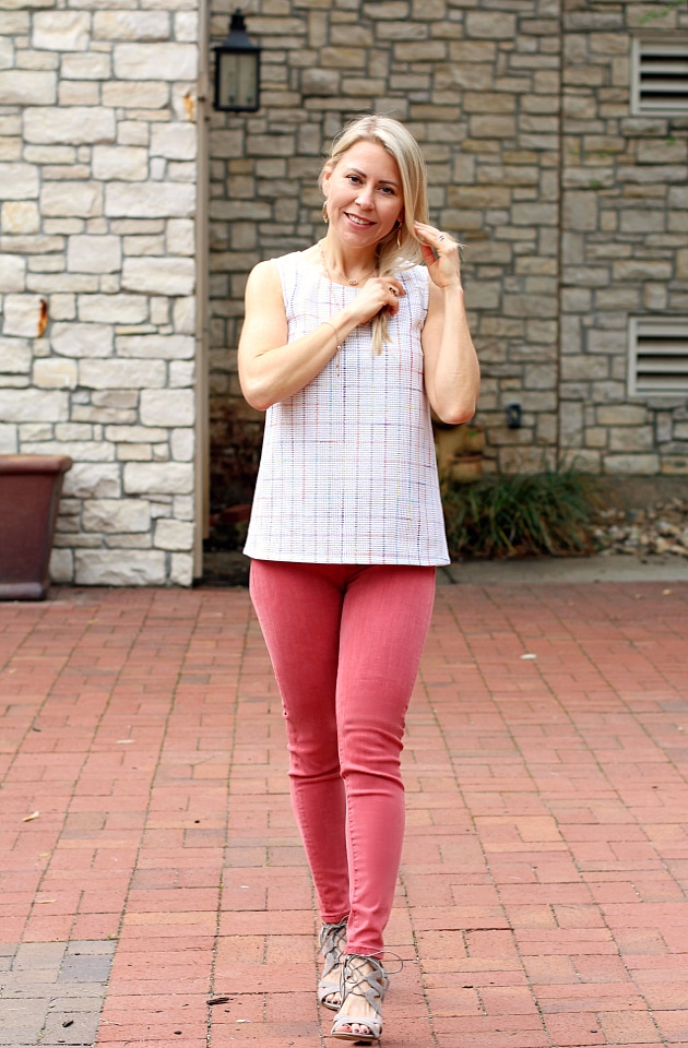 April 2017 Stitch Fix Review - Hume Crochet Top by The Korner | XS | 98.00