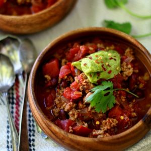 Easy Chipotle Turkey Chili