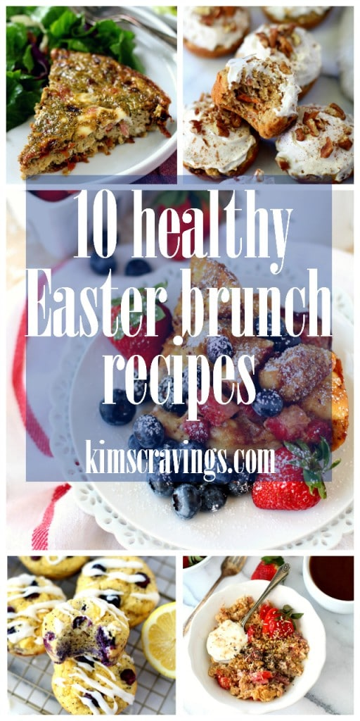 Still planning your Easter menu? Here are 10 Healthy Recipes for Easter Brunch. These recipes are sure to please your family!! (gluten-free & dairy-free)