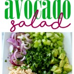 Skip the mayo and try this Easy Avocado Tuna Salad! It's super flavorful, easy to make and a much healthier alternative to your favorite classic tuna salad recipe!