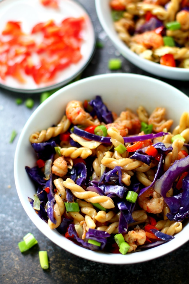 This Lo Mein recipe makes a quick and easy meal or filling side dish! A take-out favorite, this quick lo mein pasta recipe is even better at home!