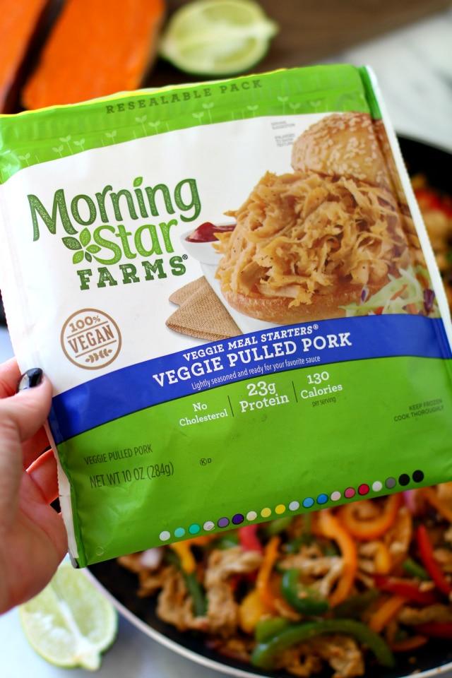 Morning Star Farms - Veggie Meal Starters Veggie Pulled Pork