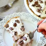 Chocolate Candy Bar Pudding Pie