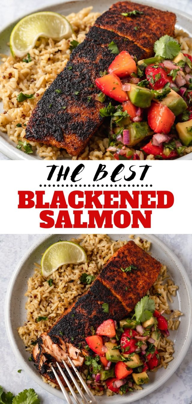 how to make the best blackened salmon