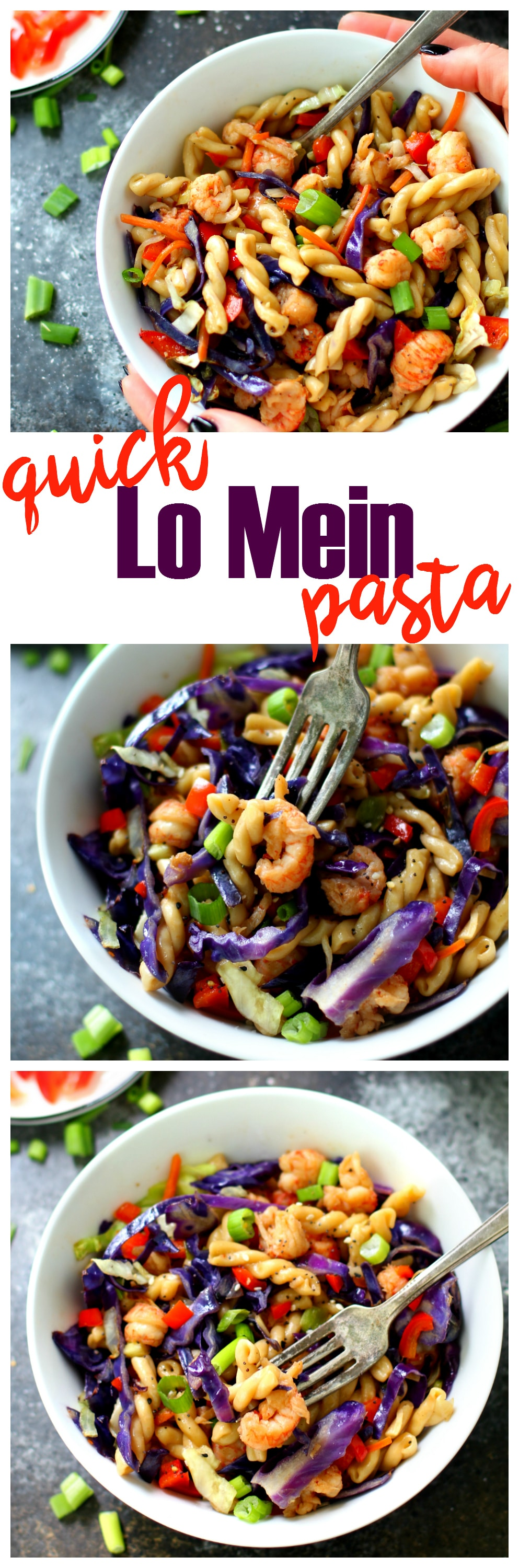 The easiest lo mein you will ever make in 15 min from start to finish. And it's so much quicker, tastier and healthier than take-out!