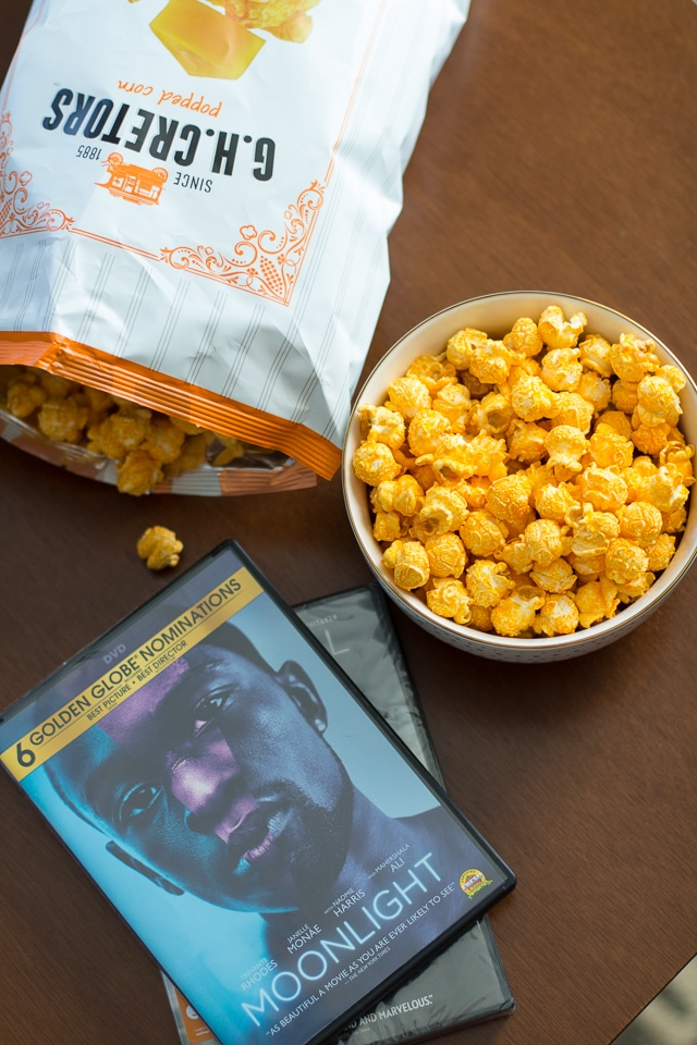 Movie night with G.H. Cretors Popcorn!