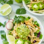 Whole30 Slow Cooker Crispy Chicken Carnitas