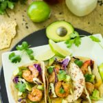 Grilled Shrimp Fajita Foil Packets