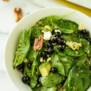 Blueberry Pecan Quinoa Salad