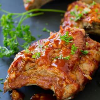 Grilled Sriracha Ribs