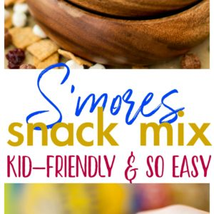 S'mores Snack Mix - 4 ingredient s'mores goodness taken to the next level with HONEY MAID® S'mores cereal! Simple and oh so irresistible!