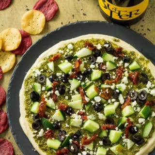 Easy Mediterranean Layer Dip with JaM Wines