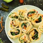 Pimiento Cheese Pinwheel Bites