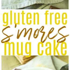 Quick, easy, and campfire-free, this single-serve gluten free S'mores Mug Cake is the perfect way to enjoy the delicious flavors ofsummer in asoft and doughy muffin-like form.